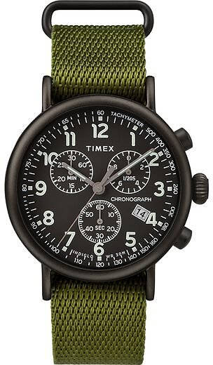 Timex® Standard Chronograph 41mm Fabric Strap Watch - Timex US