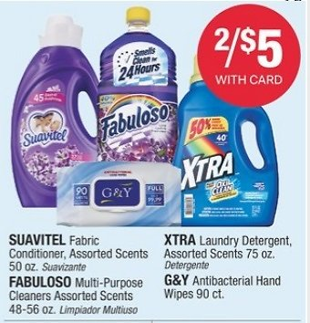 2 for $5 Select Household Items