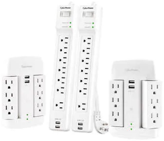 4-count CyberPower Surge Protector