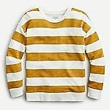 Vintage Cotton Terry Relaxed-fit Pullover in Rugby Stripe