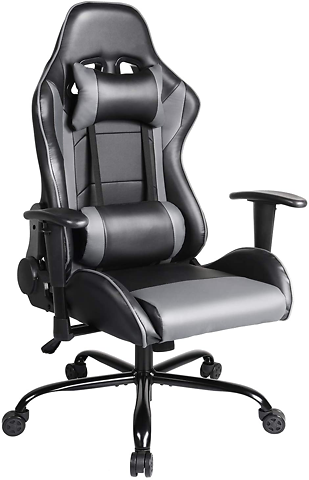 Gaming Chair, Ergonomic Office Chair Racing Style Computer Gaming Chair High Back Video Game Chairs Comfortable Desk Chair with Lumbar Support - Newegg.com