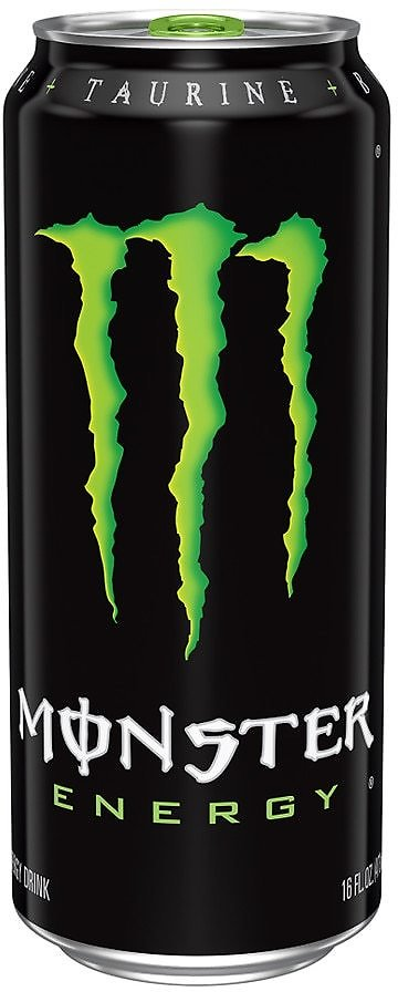 Free 16 Oz. Monster Energy Drink W/ Google Play Gift Cards