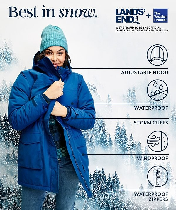 2-Days Only! Up to 65% Off ALL Coats & Jackets | Lands' End