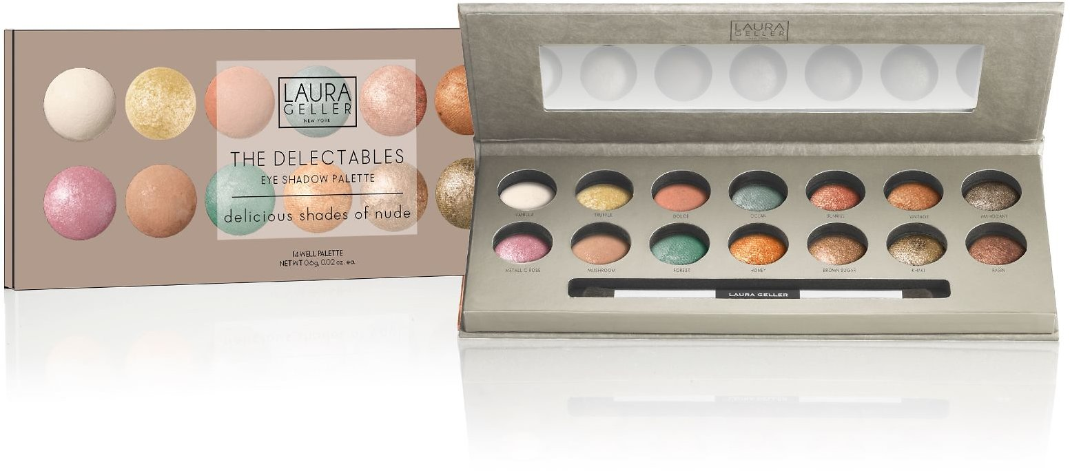 Laura Geller The Delectables Baked Eyeshadow Palette, Not Your Average Nudes