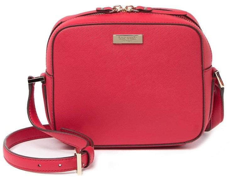 82% Off! Kate Spade New York Leather Cammie Crossbody