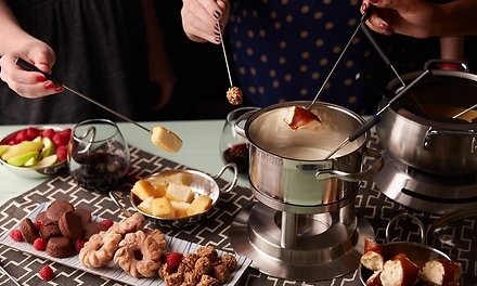 Classic European Cuisine for Dine-In At Fondue Stube (Up to 56% Off). Two Options Available.
