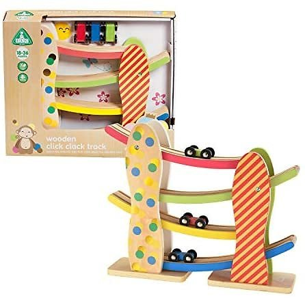 Early Learning Centre Wooden Click Clack Track, Multi-Color