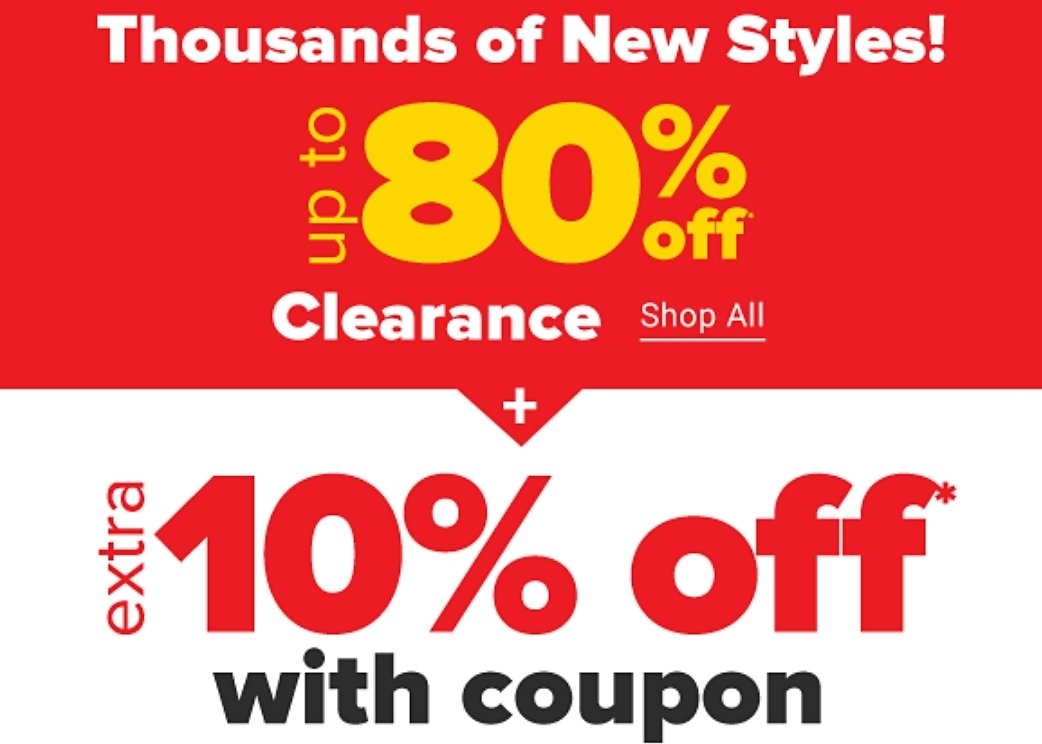Up To 80% + Extra 10% Off $5, $7, $9, & $15! Deals