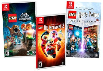 $5 Off LEGO Games for Switch