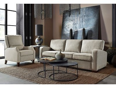 Drexel Lawrence Sofa, Cream Fabric Upholstery - Sam's Club