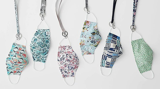 Vera Bradley Is Offering An Extra 30% Off On Already Reduced Prices! Cotton Face Mask -