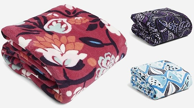 Vera Bradley Is Offering An Extra 30% Off On Already Reduced Prices! - Throw Blanket
