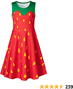 $7.99-$9.99 On 4-13T Girls Sleeveless Dress