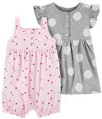 2-Pack Romper & Dress Set