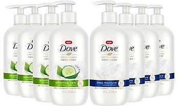 8-pack Dove Deep Cleansing Hand Wash 13.5 Fl Oz