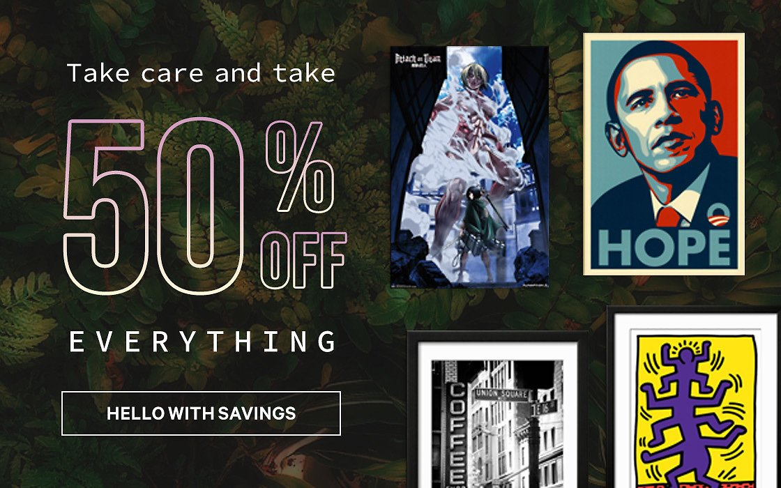 50% Off Everything - AllPosters.com