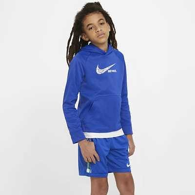 Nike Therma Big Kids' (Boys') Graphic Pullover Hoodie. Nike.com