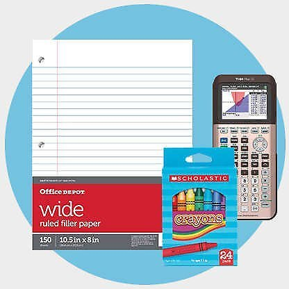 Limited Time! Up To 75% Off School Supplies - Office Depot