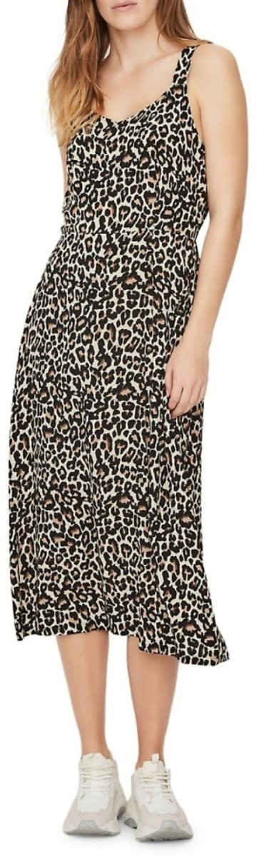 Vero Moda Sleeveless Leopard Printed Dress