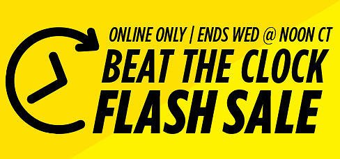 10-20% Off Beat The Clock FLASH SALE