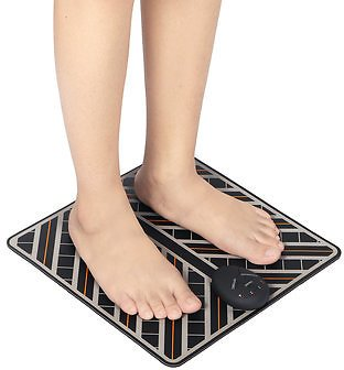 EMS Foot Massage Mat Foot Fit Stimulator Relax Pain Relief Electric Massager