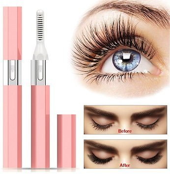 Electric Eyelash Curler Quick Heating Long Lasting Curled Curved Beauty Tool Electric Heated Eyelash Perm Kit