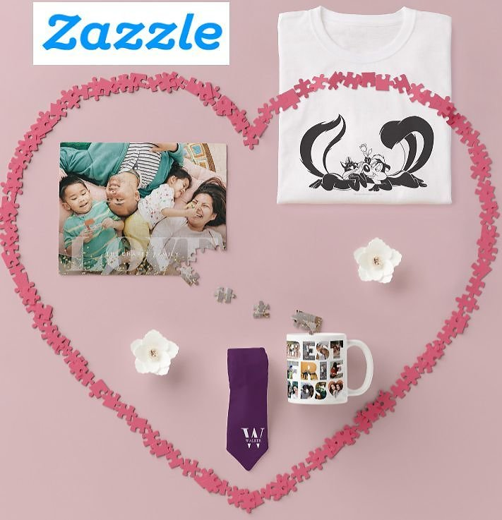 Up to 40% Off Zazzle Mugs, Puzzles, Ties & More