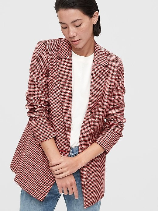 Double-Breasted Blazer   Gap