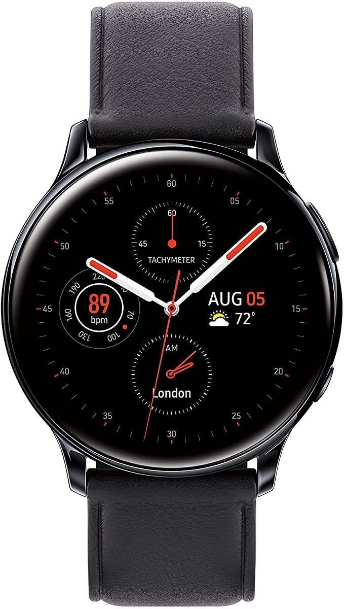 Samsung Galaxy Watch Active 2 (44MM, GPS, Bluetooth, Unlocked LTE) Smart Watch with Advanced Health Monitoring