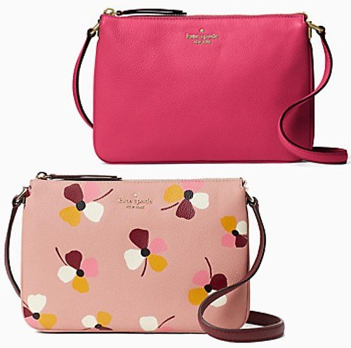 Jackson Triple Gusset Crossbody (Mult. Colors)
