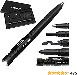 Gifts for Dad from Daughter Son,Tactical Pen Engraved