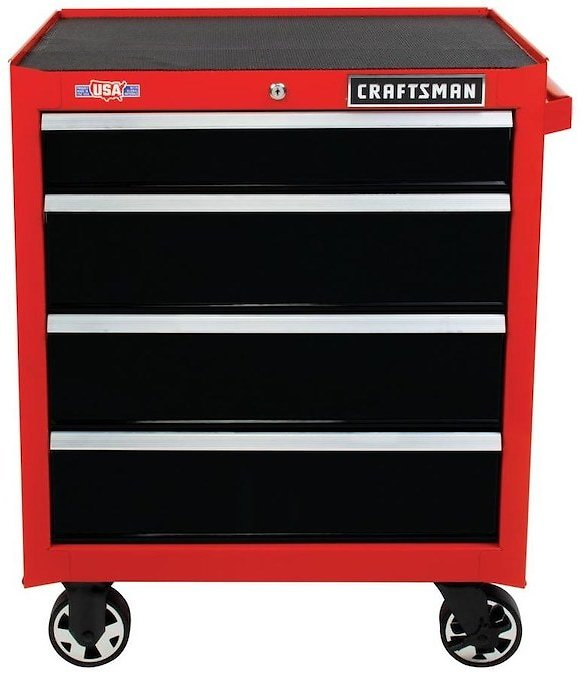 CRAFTSMAN 2000 Series 26-in 4-Drawer Tool Cabinet Lowes.com