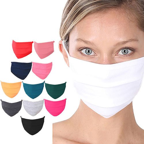 Alphabet Deal | 12 Pack Washable Cotton Mask| Price : $14.99