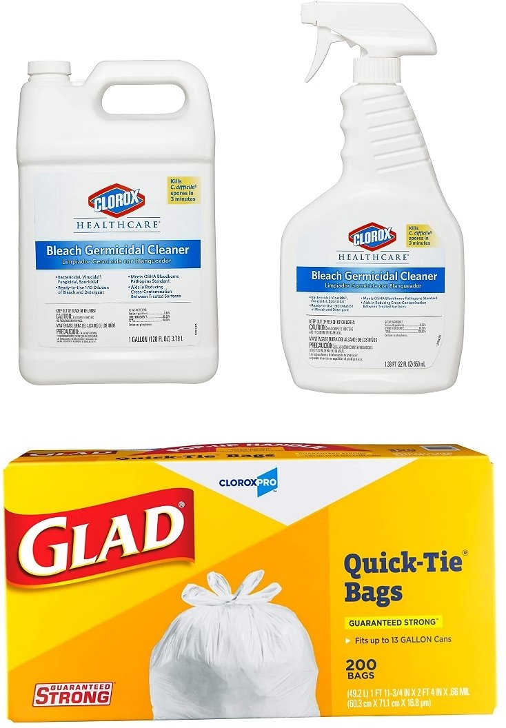 Up to 20 - 27% Off Select Clorox Cleaning Supplies