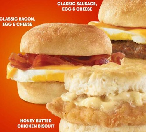New! 2 for $4 Breakfast Sandwiches