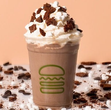 Shake Shack Introduces New Brownie Batter Hot Cocoa Shake