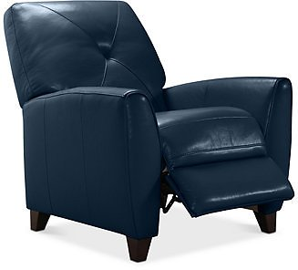Furniture Myia Leather Pushback Recliner, Created for Macy's & Reviews - Furniture