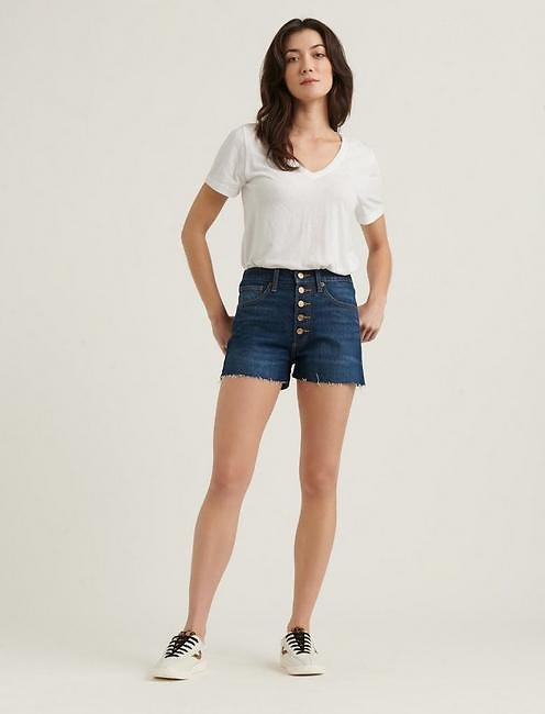 Lucky Pins Short W/ Exposed Button Fly | Lucky Brand