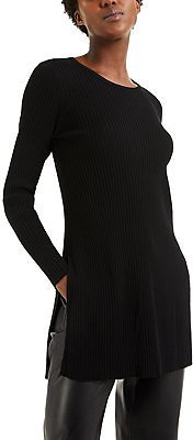 Alfani Ribbed Tunic Sweater, Created for Macy's & Reviews - Sweaters - Women