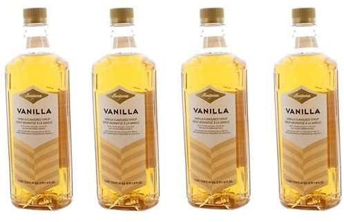 4 Bottles Fontana Vanilla Coffee Beverage Flavoring Syrup