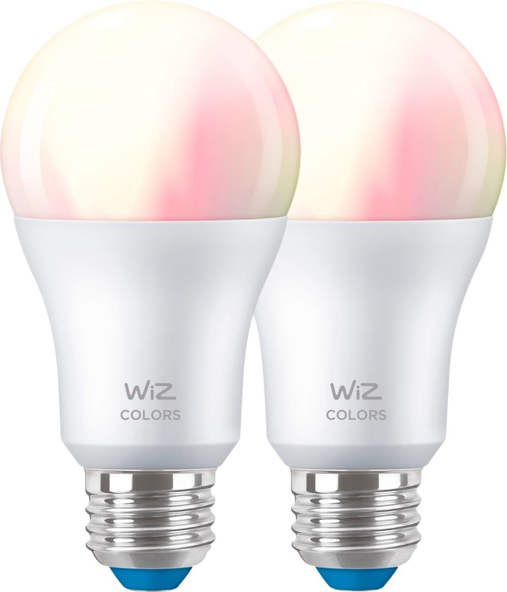 WiZ - A19 60W Color Bulbs (2-Pack)