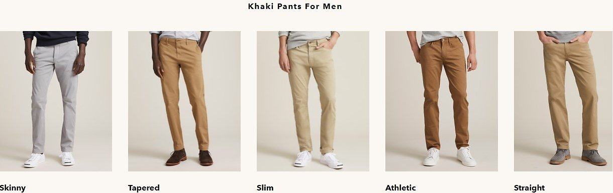 Casual Chinos and Dress Khaki Pants for Men   Dockers US