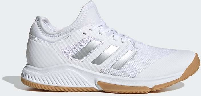 Adidas Court Team Bounce Shoes - White
