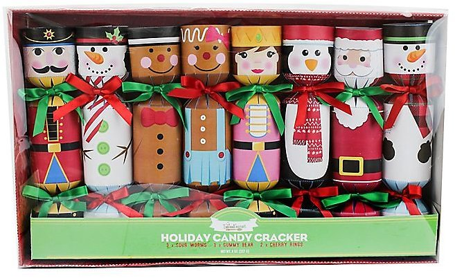 6-Pack Holiday Candy Cracker Set