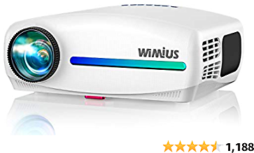 Save 20% NOW + Free Shipping | WiMiUS S1 Native 1080P Projector