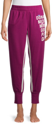 Disney Women's and Women's Plus Disney Squad Pajama Jogger