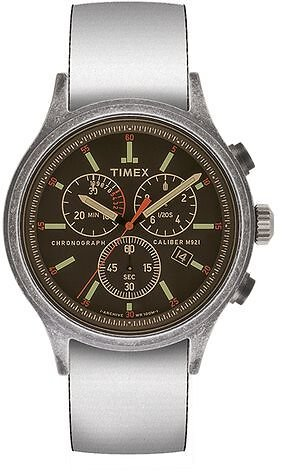 Allied Chronograph 42mm Reversible Fabric Strap Watch - Timex US