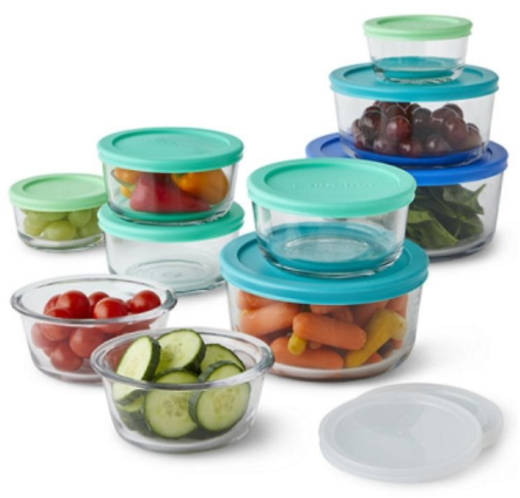 20-Piece Anchor Hocking Food Storage Set
