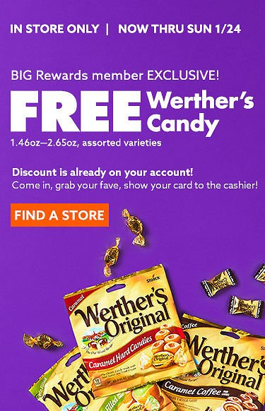 Big Lots | Free Weathers Originals Candy (In-Store)