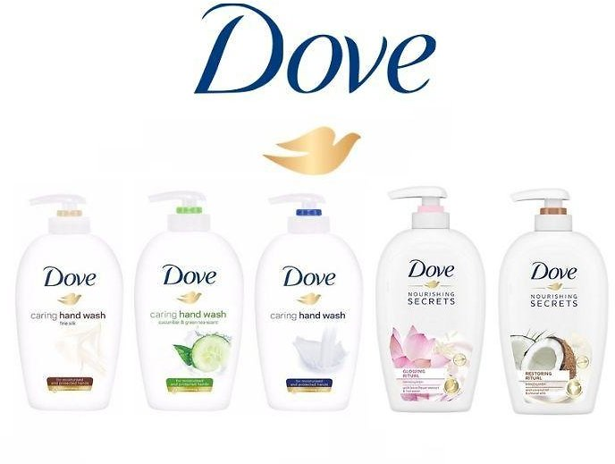 Dove 250ml Caring Hand Wash (5-Pack)